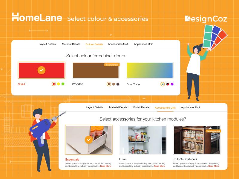 Homelane Select Colour Accessories By Designcoz Ux Studio