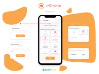 Designing the registration flow for mChamp's mobile trivia games
