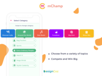 Designing the game experience for mChamp's mobile trivia games
