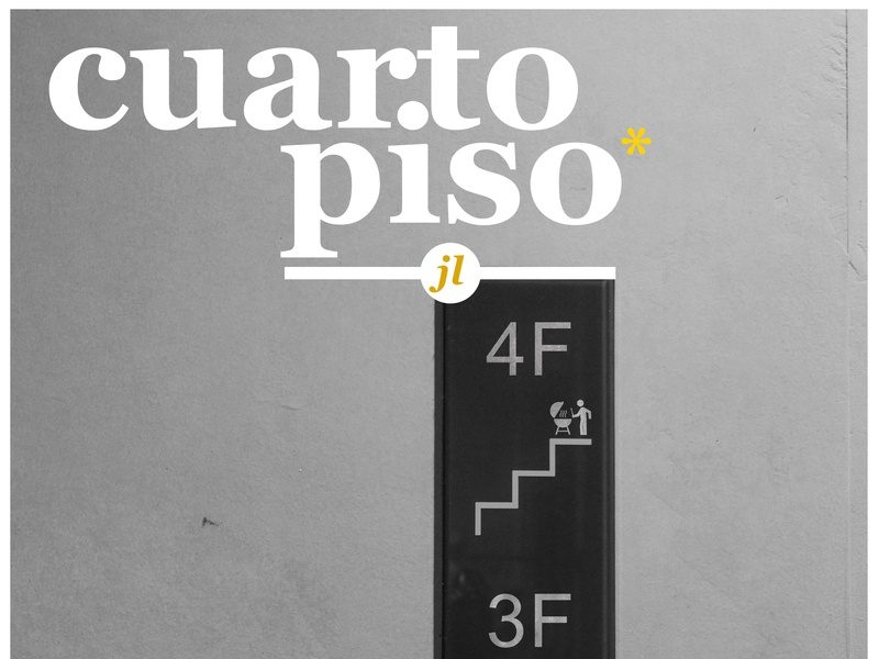 Cuarto Piso (4th floor) color palette posters photography stairs bbq poster photoshop design