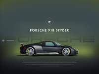 2017 Porsche918 Ui