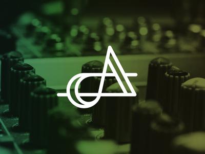 """A"" logo mark a logo a letter logo mark logo design music note music logo music branding logo mark a a mark"