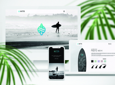 WTR Site Design – 01 website concept web design ecommerce website design website web brand identity identity design branding
