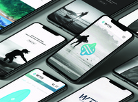 WTR Site Design – 02 uiux mobile ui ecommerce website design web design website web identity brand identity branding