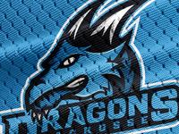 Sport Logo Mockup Dragon