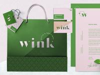 Wink Branding Identity Material