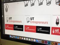 UT Entrepreneurs Logo Process