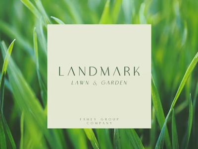 Landmark Lawn & Garden Branding 1
