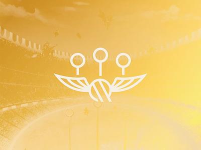 McGonagall's Quidditch Supply Co. - 01 harry sport logo sport mark branding mark fan art nerd harry potter logo
