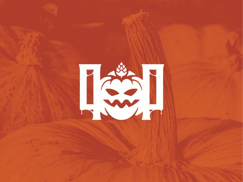 Pumpkin Patch Brewing Company - 01 brewery branding brewery logo brewery branding logo pumpkin logo fall pumpkin halloween