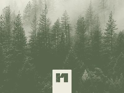 RealNature - mark 1 brand identity apparel company apparel monogram modern nature logo mark branding