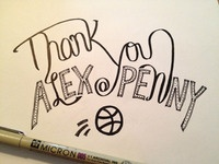 Thank you @alexpenny!