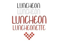 Luncheon Font