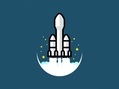 Space X Falcon heavy.