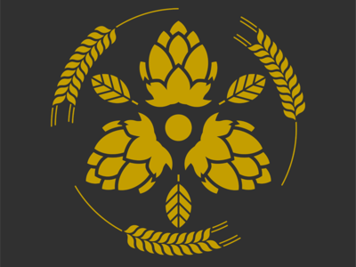 Family crest beer logo.