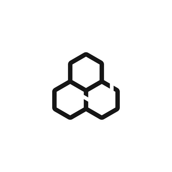 Hive icon beeswax digital honey bees hive icon vector design camping az arizona illustration beer typography branding logo
