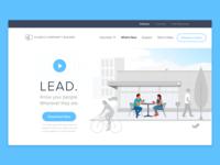 LEAD App Landing Page