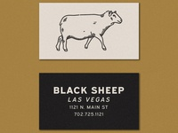 Black Sheep Business Card