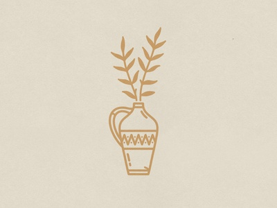 Spring 2020 spring drawing plant illustration plant branding icon hand drawn illustration badge vintage vector texture minimal design