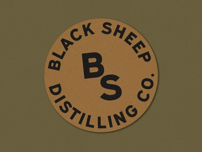 Black Sheep Badge + Monogram