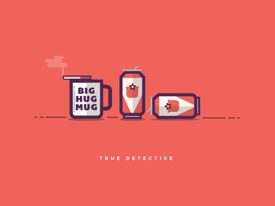 True Detective cigarette coffee beer hbo show true detective television tv
