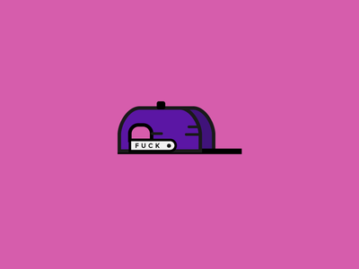 Monday Snapback icon clothing illustration vector fuck hat snapback monday