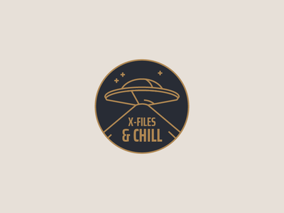 X-Files & Chill alien tv pin scully mulder x files