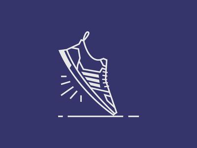 Ultraboost illustration vector adidas sneaker shoe ultraboost