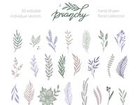 Branchy vector set