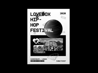 Festival Poster poster a day poster art posters poster design poster illustration illustration lovebox festival poster