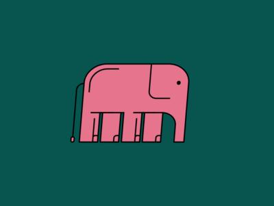 Quick Elephant Illustration