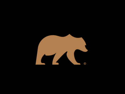 Bear Logo branding identity animal logo logomark animal mark logo bear logo bear
