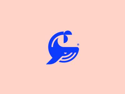 Whale Logo Design animal design whale logo design logo identity design branding whale logo animal logo
