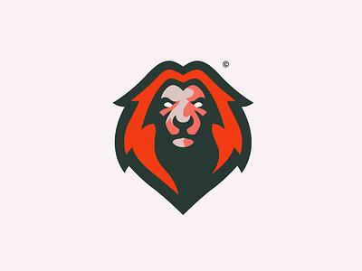 Lion Logo malmoo red illustrator identity sport branding lion animal logo sport logo lion logo