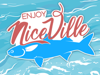 Niceville, FL | 2 Color Sticker Design