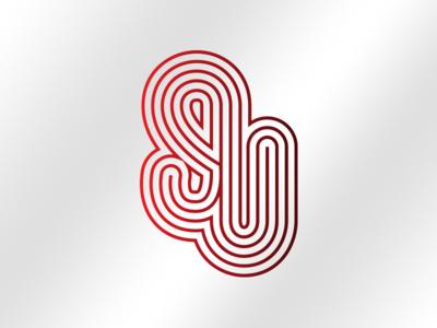 Startup Logo sketch linework vector branding logo