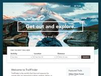 Daily UI 003 :: Landing Page