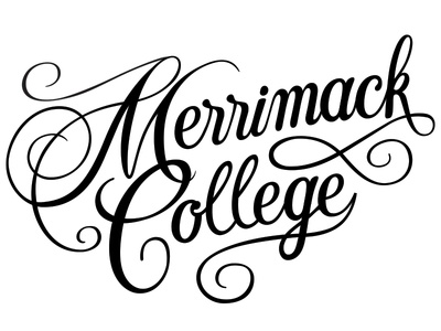 Merrimack College Lettering