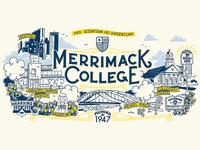 Merrimack College - Illustration
