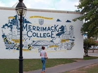 Merrimack College: Mural