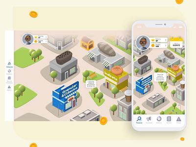 APP GAME illustrator graphic design vector website app icon ux ui illustration design