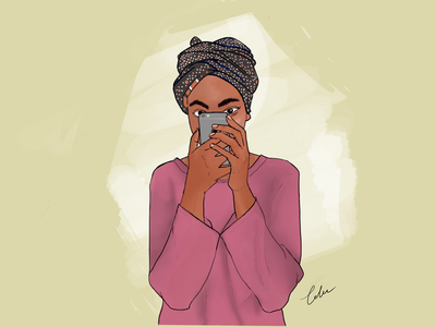 """""""You are a rock. Be confident."""" 2018 illustration digital painting confident"""