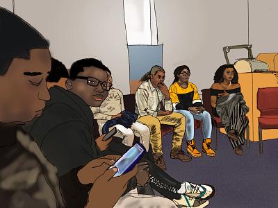 Live Sketch digital art 2018 illustration live sketch