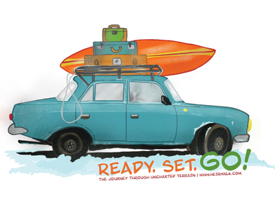 Ready. Set. Go! procreate app digital illustration 2018 illustration digital art