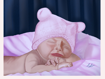 Lullaby digital illustration digital art