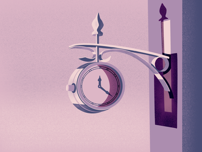 Time Drawing procreate 2019 digital illustration