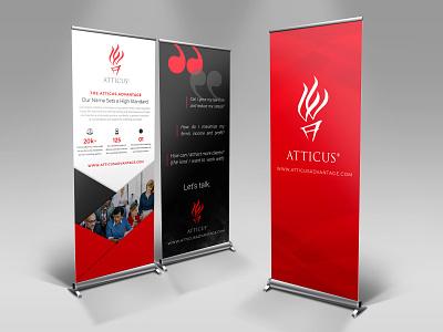 SUMMIT Trade Show Banner Design branding banner design booth design conference trade show banner