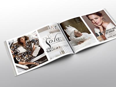 Magazine Ad Layout magazine design print design magazine ad magazine