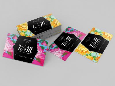 Wolf & Malcolmson Business Card Design branding business cards