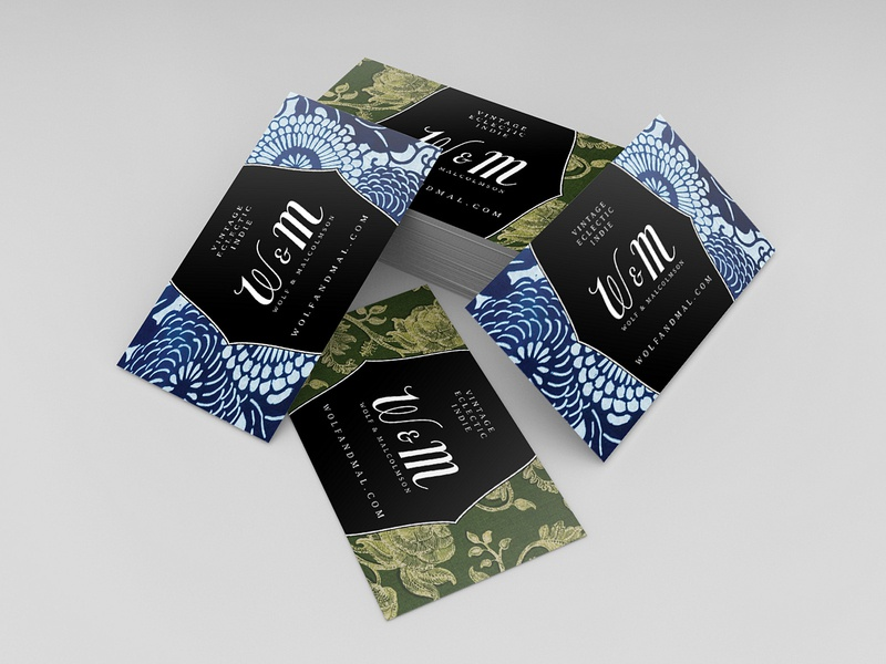 Business Cards for Wolf & Malcolmson business card design